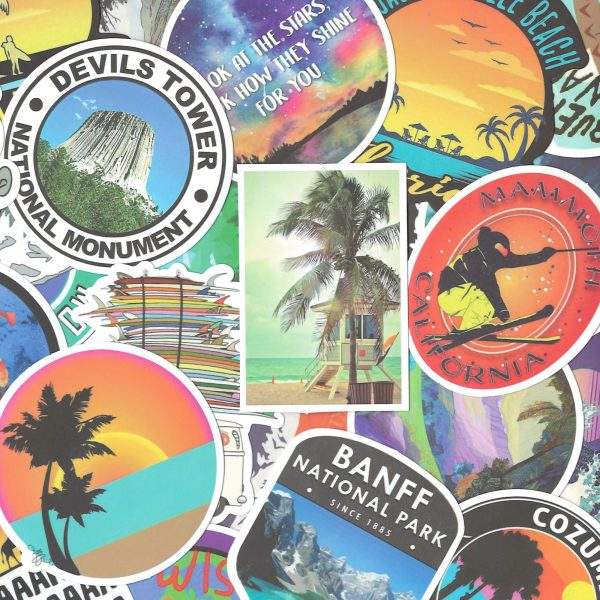 Travel Wanderlust Stickers