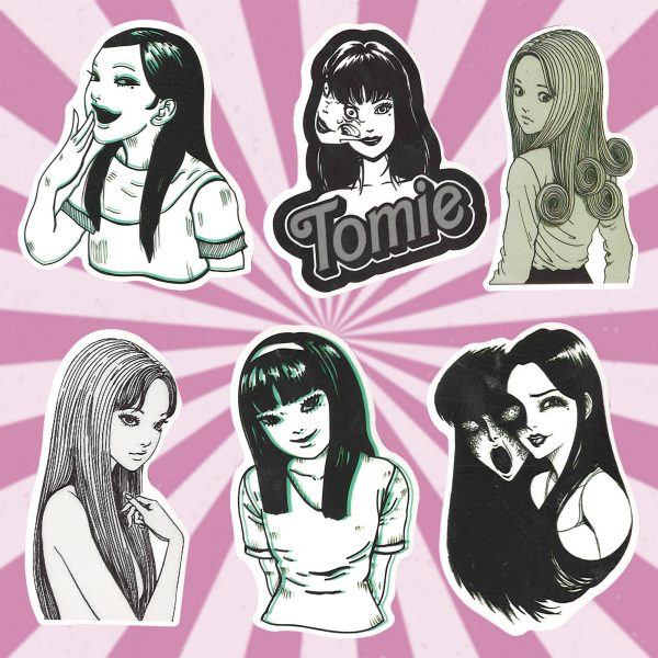 Tomie Laptop Stickers